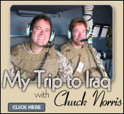 My Trip to Iraq with Chuck Norris